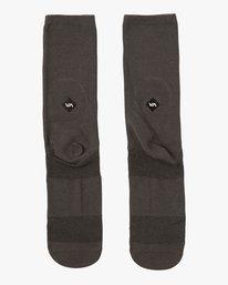 0 Pigment Crew Socks Black MASOQRPM RVCA