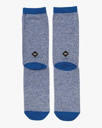0 RVCA Space Crew Sock Blue MASOQRSS RVCA