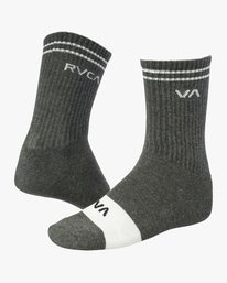 0 Union Skate Crew Socks Grey MASOTRUK RVCA