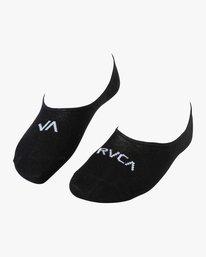 0 Union Hidden Lo Socks Black MASOTRUL RVCA