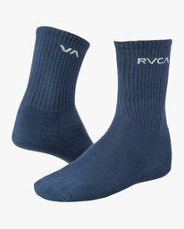 0 Union Square Crew Socks Blue MASOTRUS RVCA
