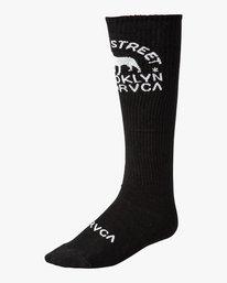 0 Smith Street Socks Black MASOVRSS RVCA