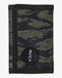 0 RVCA Print Trifold Wallet Grey MAWASRPT RVCA