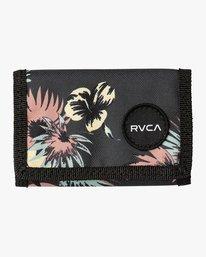 0 RVCA PRINT TRIFOLD WALLET  MAWASRPT RVCA