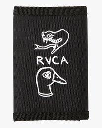 0 ANP Trifold Wallet Black MAWATRAW RVCA