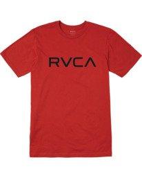 1 BOYS BIG RVCA SHORT SLEEVE TEE  B4013RBI RVCA