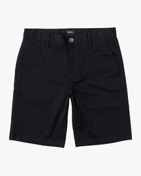 "0 week-end 20"" STRETCH SHORTS Black MC202WKS RVCA"