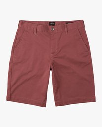 "0 week-end 20"" STRETCH SHORTS Grey MC202WKS RVCA"