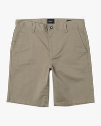 "0 week-end 20"" STRETCH SHORTS Beige MC202WKS RVCA"