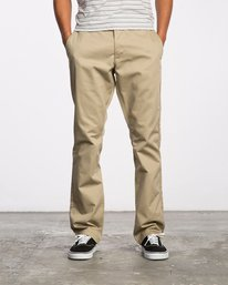 0 Week-end Stretch Pants Green MC303WST RVCA