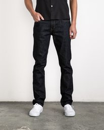 0 Daggers Denim Pants Blue MCDP06DA RVCA