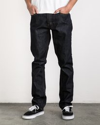 0 Stay RVCA Denim Pants Blue MDDP02ST RVCA