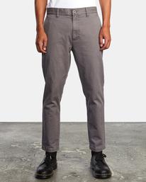 1 HITCHER PANT Grey ME303HIT RVCA