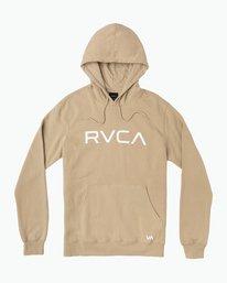 0 Big RVCA Hoodie Green MF70Q00B RVCA