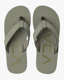 0 Federal Sandals Green MFASPFDS RVCA