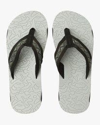 0 Outrigger Sandal Grey MFOTNROR RVCA