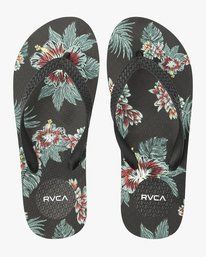 0 Sleeper Rubber Sandal Black MFOTNRSL RVCA
