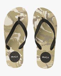 0 Sleeper Rubber Sandal Camo MFOTNRSL RVCA