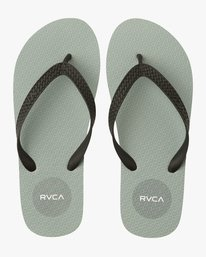 0 Sleeper Rubber Sandal Grey MFOTNRSL RVCA