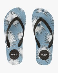 0 Sleeper Rubber Sandal Blue MFOTNRSL RVCA