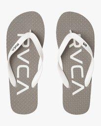 0 Trench Town 3 Sandal Grey MFOTTRTR RVCA