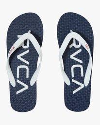 0 Trench Town 3 Sandal Blue MFOTTRTR RVCA