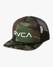 0 RVCA Foamy Trucker Hat Green MGAHWRFT RVCA