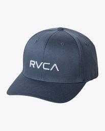 0 RVCA FlexFit Hat Green MHAHWRFF RVCA