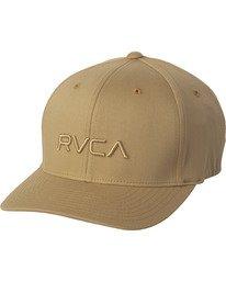 0 RVCA FLEX FIT HAT Purple MHAHWRFF RVCA