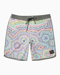 "0 Kelsey Psych 19""  Trunk Multicolor MJ112KEL RVCA"