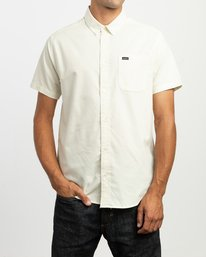 0 That'll Do Stretch Short Sleeve Shirt Yellow MK515TDS RVCA