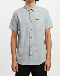 0 That'll Do Stretch Short Sleeve Shirt White MK515TDS RVCA
