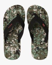 0 Astrodeck Sandal Camo MKASPADS RVCA
