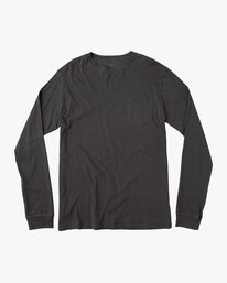 0 PTC Pigment Long Sleeve T-Shirt Black ML921PPL RVCA