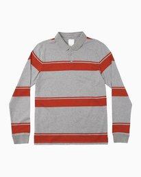 0 KL Rugby Long Sleeve Polo  MM906KLR RVCA