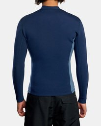 2 Ancell Front Zip Neoprene Wetsuit Jacket Blue MR01URFZ RVCA
