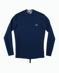 0 Back Zip Neoprene Wetsuit Jacket Blue MR03URBZ RVCA