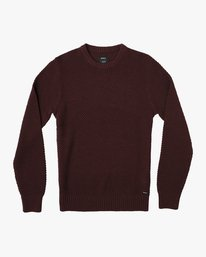 0 Dispatch Knit Sweater Red MV01QRDS RVCA