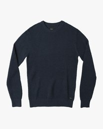 0 Dispatch Knit Sweater Blue MV01QRDS RVCA