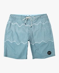 "Pulled Lines Trunk - 19"" Boardshorts for Men  N1BSRERVP9"