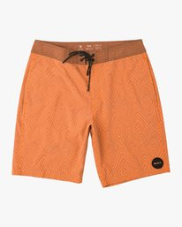 "Mowgli Mosaic Trunk - 19"" Boardshorts for Men  N1BSRGRVP9"