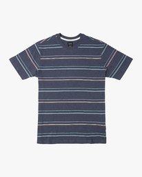 0 Avila Stripe T-Shirt Blue N1KTRCRVP9 RVCA