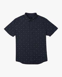 0 Aye Kat SS T-Shirt Blue N1SHRERVP9 RVCA