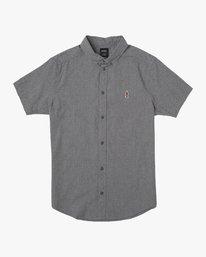 0 Dmote ANP Twist - Short Sleeves Shirt for Men Black N1SHRKRVP9 RVCA