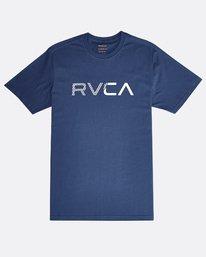 0 Blinded - Short Sleeves T-Shirt for Men Blue N1SSRJRVP9 RVCA