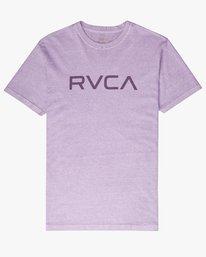 0 Big Rvca SS T-Shirt Purple N1SSRKRVP9 RVCA