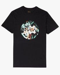 0 Motors Fill - T-Shirt à manches courtes pour Homme Noir N1SSRMRVP9 RVCA