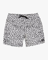 "0 Tom Gerrard Dots - 17"" Boardshorts for Men White N1VORARVP9 RVCA"
