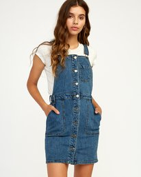 0 Conquer - Dress for Women Blue N3DRRCRVP9 RVCA