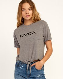 Big RVCA - T-Shirt for Women  N3SSRERVP9